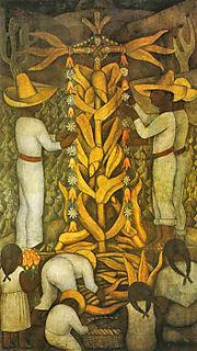 Diego Rivera, Festival de Maiz