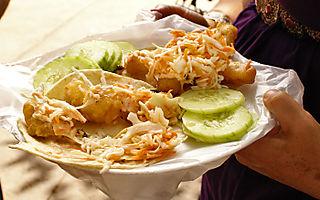Taco Fish La Paz 2