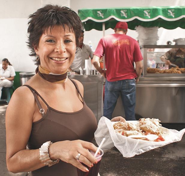Tacos Fish La Paz Woman