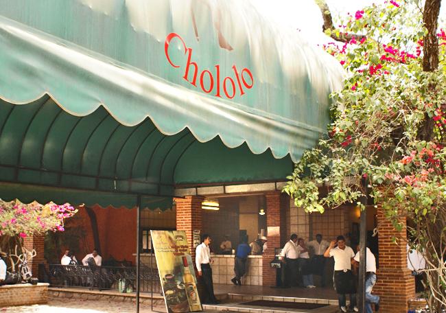 Chololo Entrada