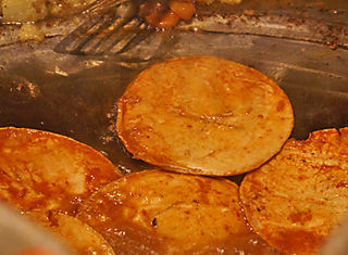 Enchiladas Placeras Frying