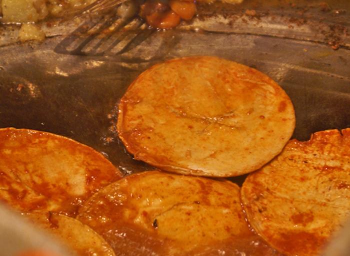 Enchiladas Placeras Frying