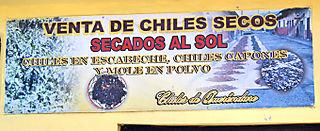 Venta de Chiles Secos