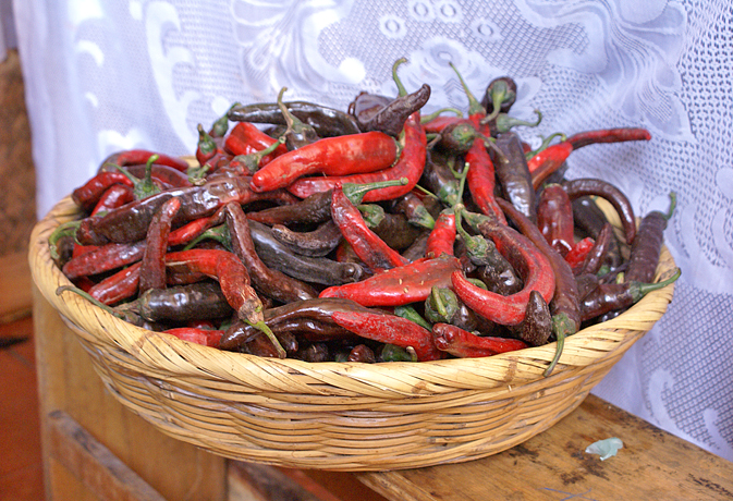 Chiles Chilaca