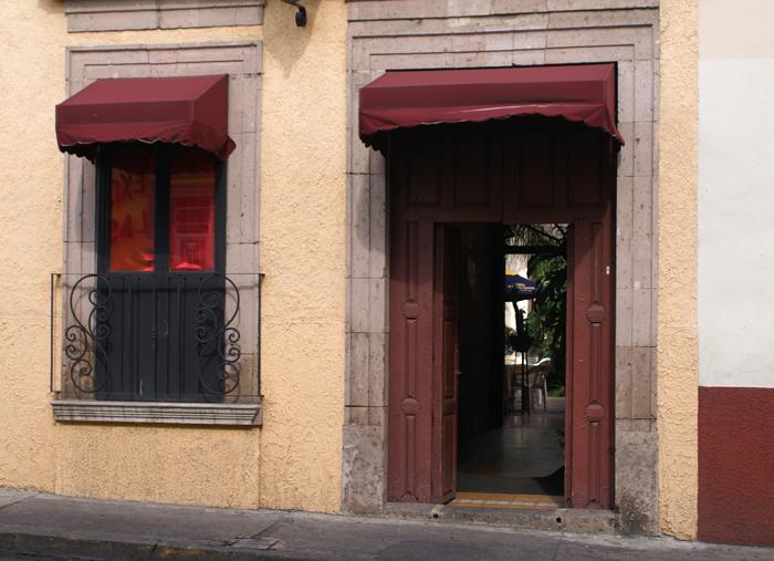 Restaurante, Entrada