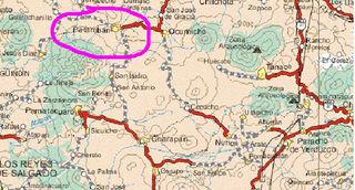 Patamban map