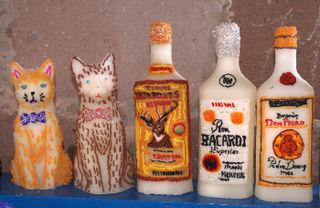 Tres Botellas, Dos Gatos, Pátzcuaro