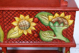 Dish Cupboard Detail