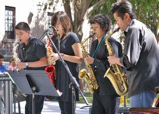 Saxofonos