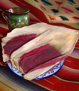Tamales de Zarza