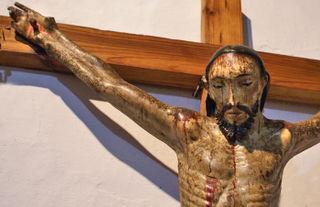 Cristo Pasta de Caña Siglo 17