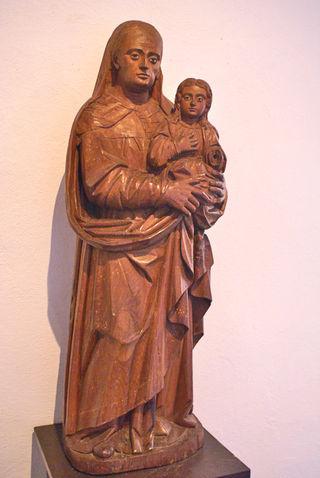 Sta Ana y la  Virgencita