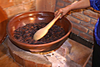 Toasting Cacao