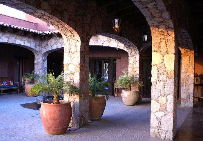 Terraza, Rancho Casa Luna