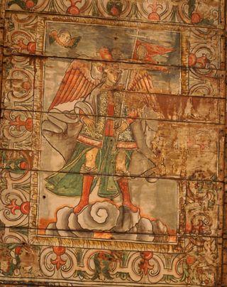 Arcangel con Banderita