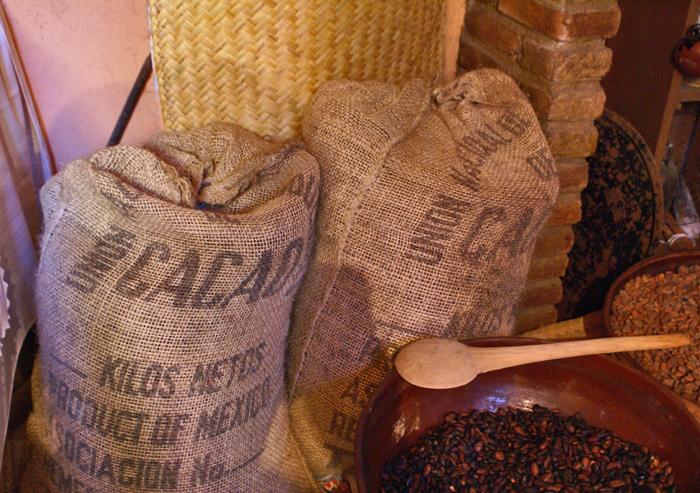 Costales de Cacao