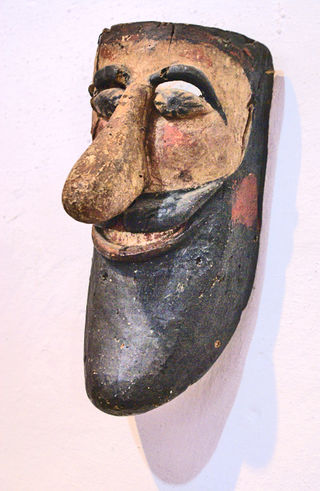 Máscara Nariz y  Barba