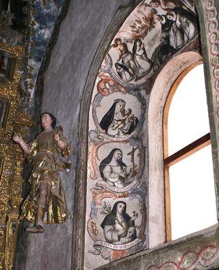 Atotonilco Lady Chapel Window