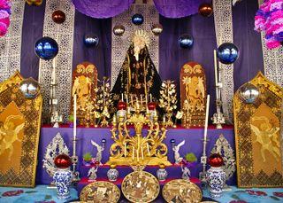 Pátzcuaro Altar Monseñor