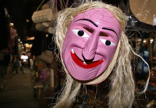 Mascara Viejitos Patzcuaro