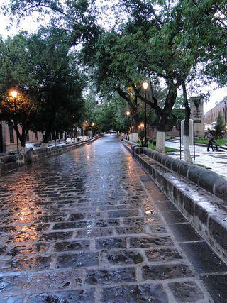 Calzada, Morelia