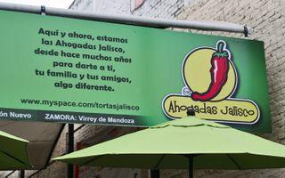 Tortas Jalisco Sign