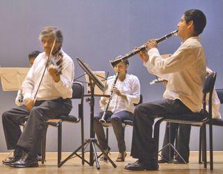 Pirekua Maestro, Clarinete, y Jose Luis