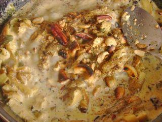 Add Nuts to Mushrooms, Cactu