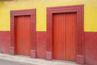 Pichátaro Red Doors