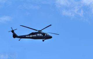 Helicóptero Arriba del Centro