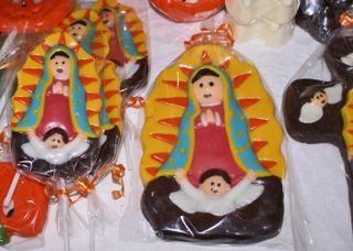 Nuestra Señora de Guadalupe Chocolate Blanco