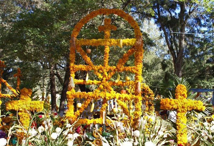 Ofrenda Arco con dos Cruces