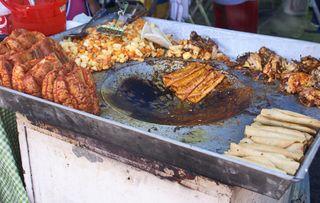 Pambazos y Enchiladas
