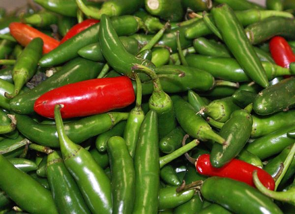 Fresh Chiles Common in Mexico and Beyond