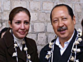 Leonel Godoy Rangel y Magdalena Ojeda Arana