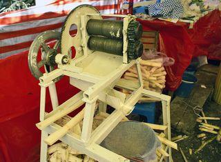 Extractor de Jugo de Caña