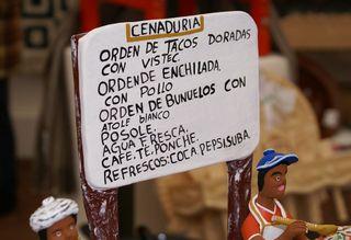 Cenaduría Menú Ocumicho