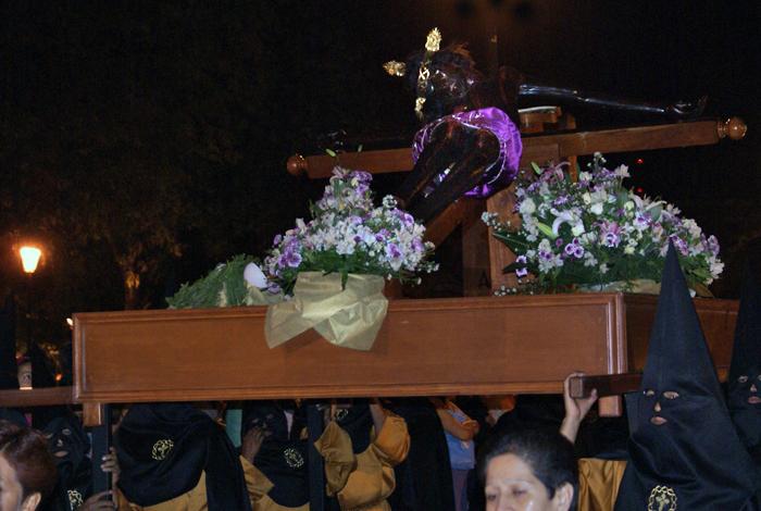 Procesión Cristo Negro en la Cruz
