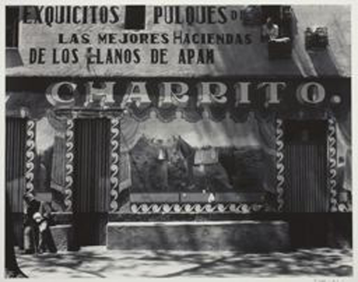 Pulquería Charrito Edward Weston 1926