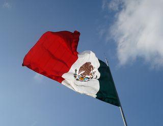 Bandera Monumental Morelia