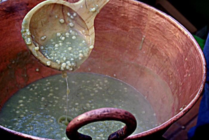 UNESCO Atole de Grano en Cazo