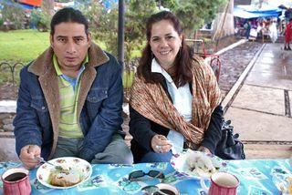 Susana y Joaquín Pátzcuaro Corundas