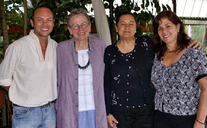 Joaquín, Cristina, Blanca, Susana