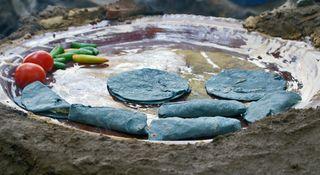 UNESCO Blue Corn Tortillas on Comal