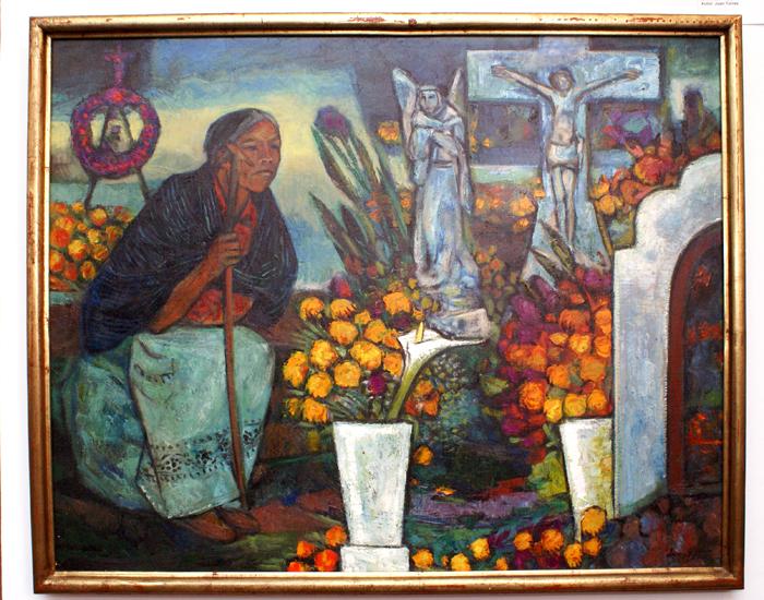 Juan Torres Ofrenda con Cristo
