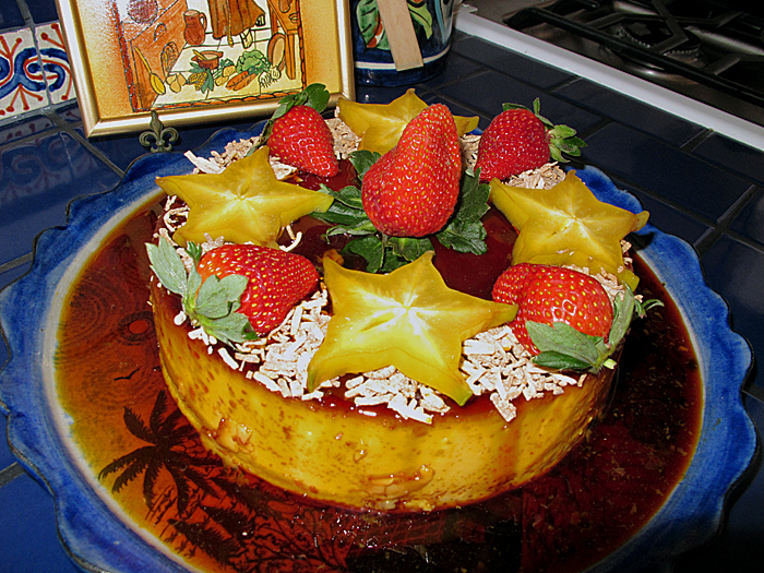 Flan Finished Product