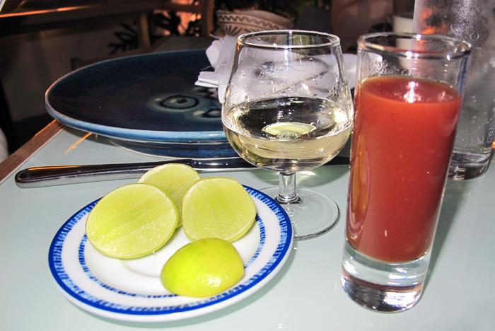 Azul Tequila y Sangrita Casera