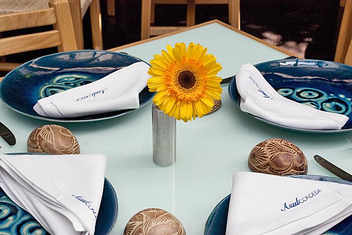 Azul Table Setting