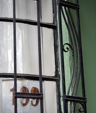 Condesa Window and Number
