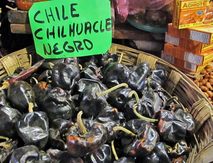 Oaxaca Benito Juárez Mkt 6 Chilhuacle
